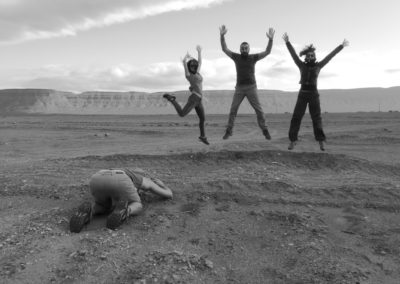 jump désert backphoto
