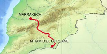 MAROC : Aux portes du désert