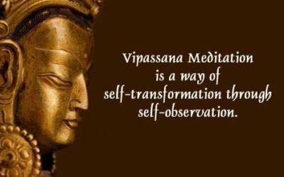 10J de méditation dans le silence: mon expérience VIPASSANA