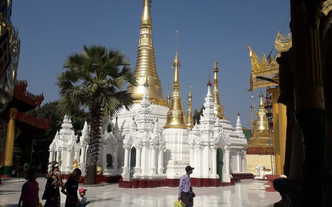 Arrivée au Myanmar : Yangon